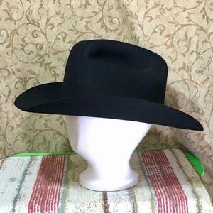 John B. Stetson - Men's 4X Beaver Cowboy Hat Black